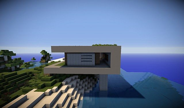 Modern Cliff House Minecraft House And Home Design - Modern house on cliff