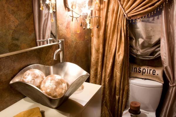 20 εξαιρετικές ιδέες για WC επισκεπτών