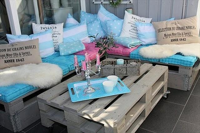 Καναπέδες από παλέτες με στυλ – μερικές υπέροχες ιδέες για εσάς