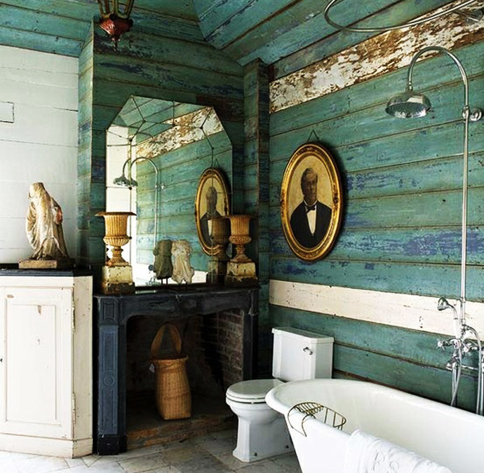 Wooden walls to warm up your home