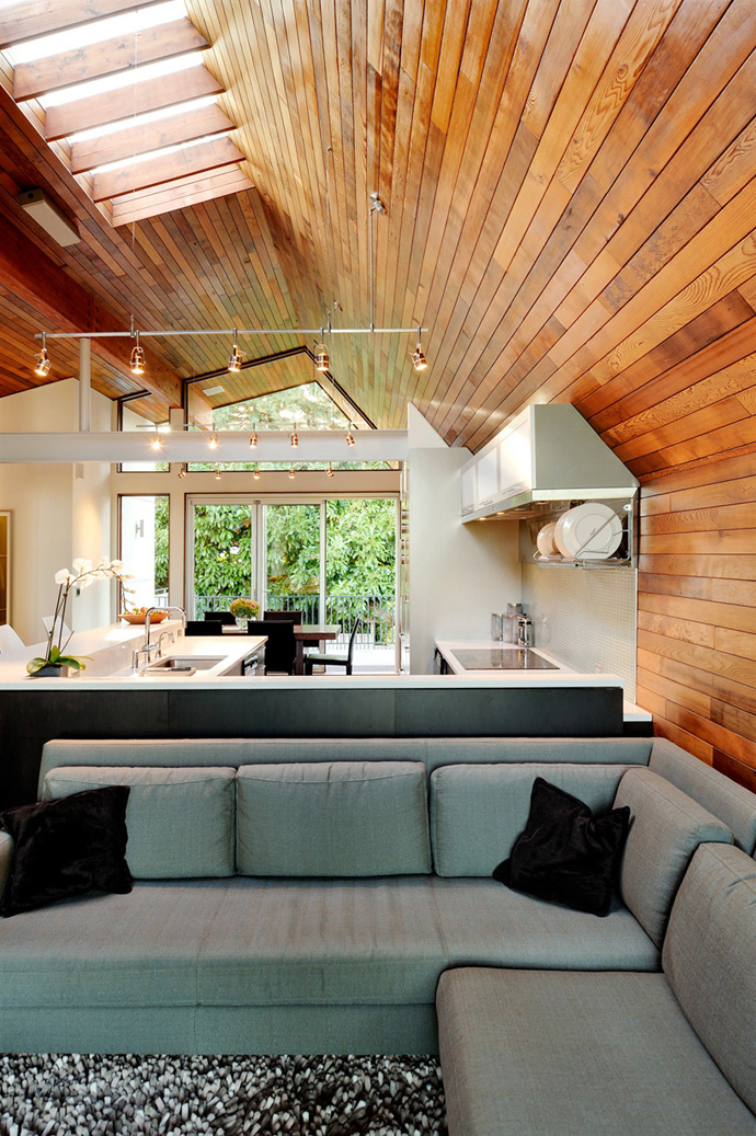 Wooden walls to warm up your home Ecotek