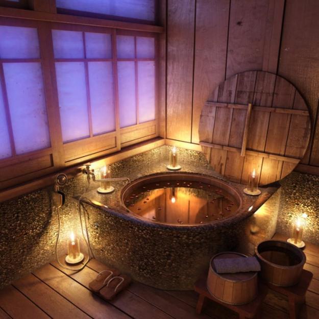 20 amazing ideas for a wooden bathroom