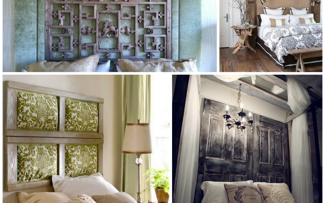 Creative ideas for bedroom headboards