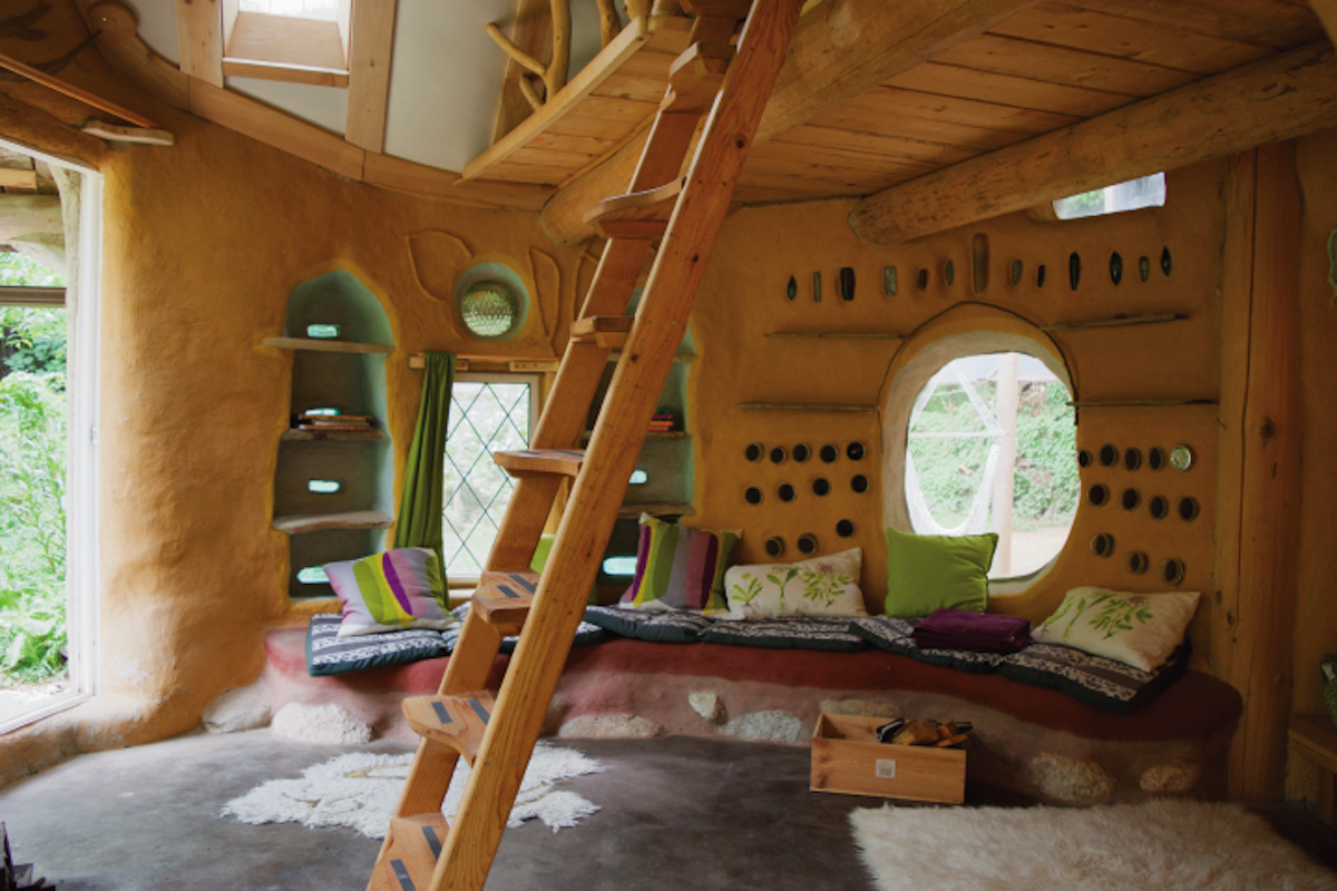 Amazing Cob House Interiors Of Earth Sand And Straw Ecotek
