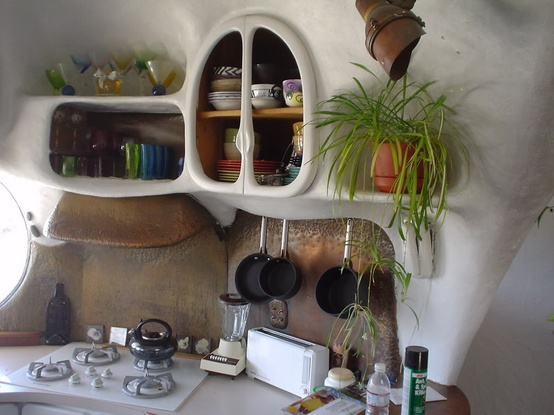 Cob House Interior