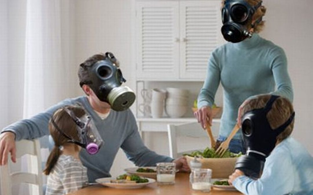 Do you have air pollution in your house?