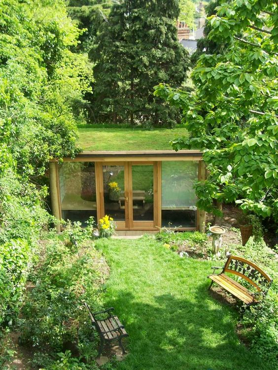 Alternative space garden rooms: