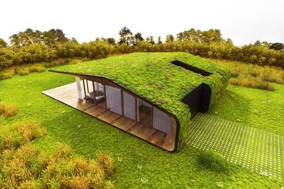 Green Roof Design, Credit: on-a arquitectura: