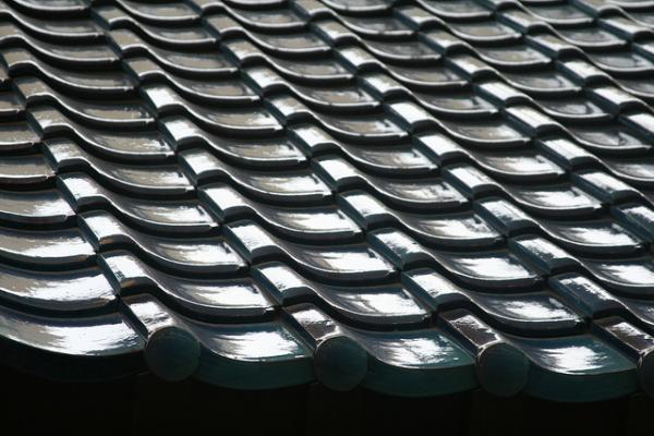 Image of a Roof Tile Pattern