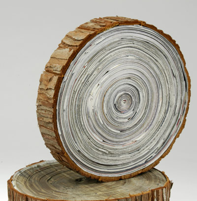 Image result for newspaper wood