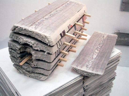 newspaperwood at dutch design week 08