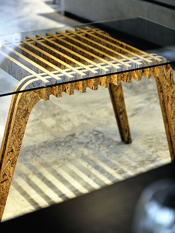 Osb Table by PapercutsbyAlex on Etsy, €499.00: