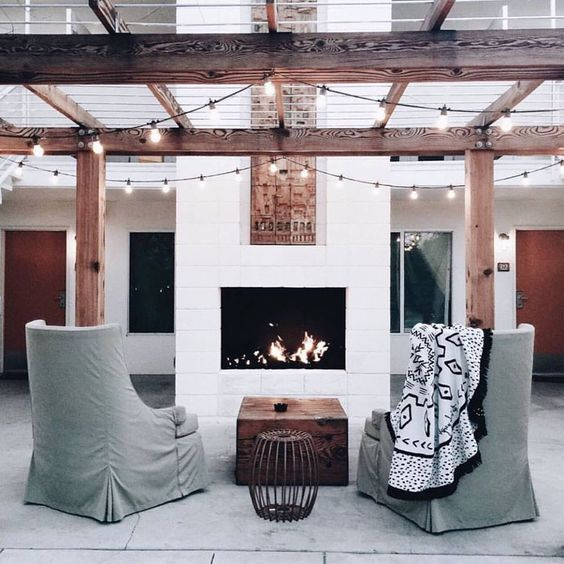 The Dream Time sitting pretty at Ace Hotel, Palm Springs.: