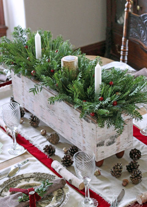 15 Stunning Christmas Table Settings For you to Try at Home