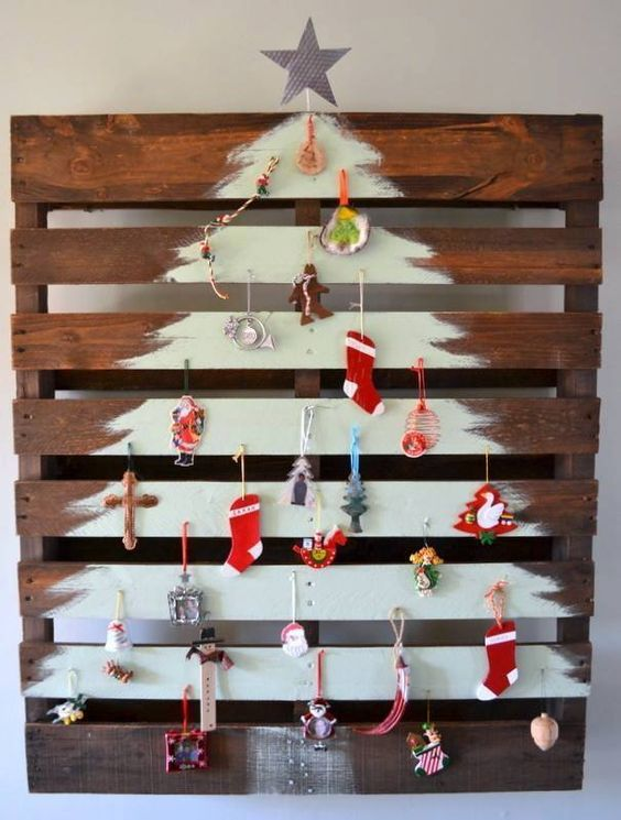 DIY Pallet Christmas tree_Love for all seasons: