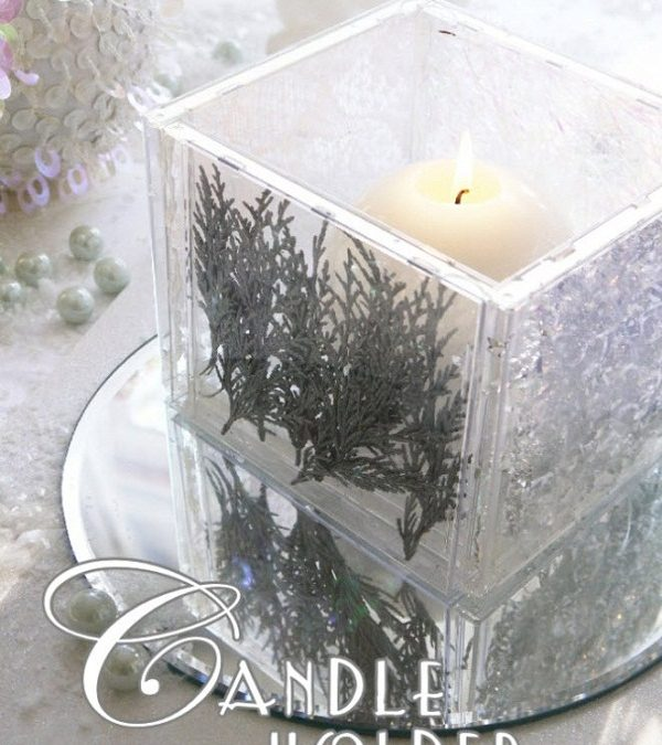DIY Candle Holder Decorations