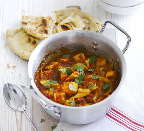 Turkey & potato curry