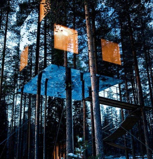 13 Έξυπνα Μεταμφιεσμένα Κτίρια Εξειδικευμένα για Απόκρυψη