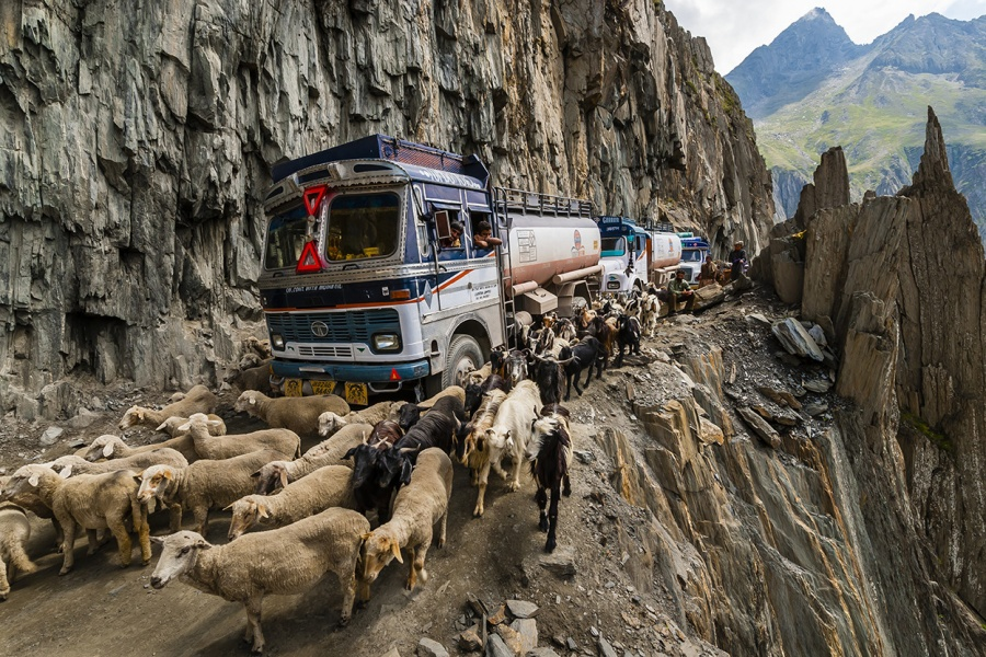 12 of the most dangerous roads in the world. Would you drive on these?