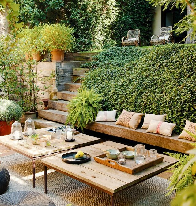 15 cozy outdoor garden spaces that you will dream of having | ecotek