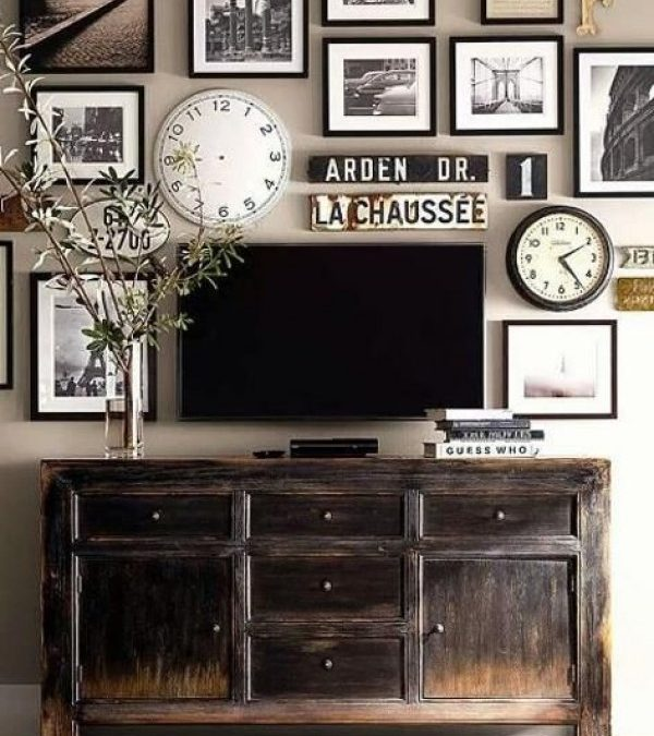 Clever Ideas to Disguise the TV in Your Home