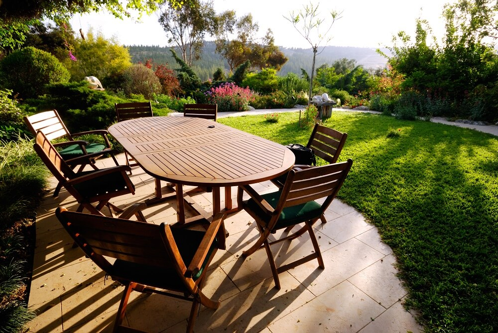 Image result for Clean Garden Furniture