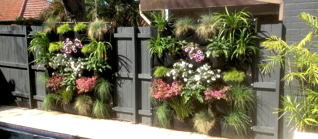 Image result for vertical garden fence