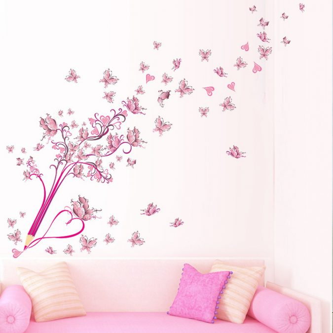 colorful-butterflies-home-decor-Creative-Pencil-Flower-font-b-Butterfly-675x675 The 15 Newest Interior Design Ideas for Your Home in 2017