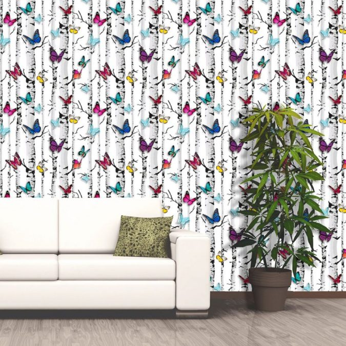 colorful-butterflies-White-background-home-decor-675x675 The 15 Newest Interior Design Ideas for Your Home in 2017