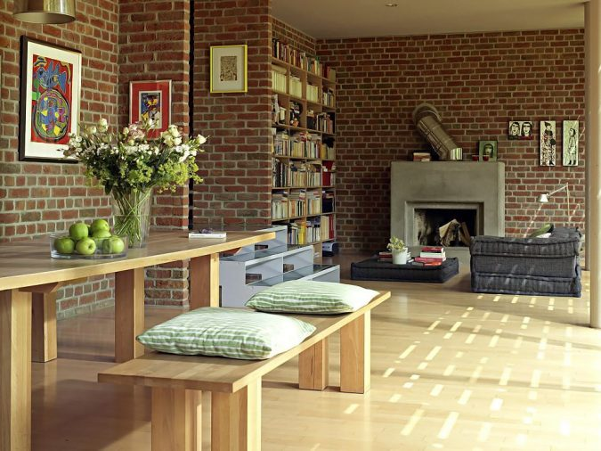 exposed-bricks-home-decor-675x506 The 15 Newest Interior Design Ideas for Your Home in 2017