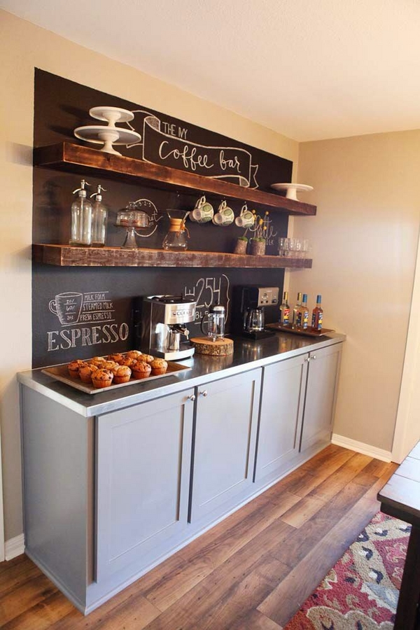 how to organize kitchen ideas chalkboard wall