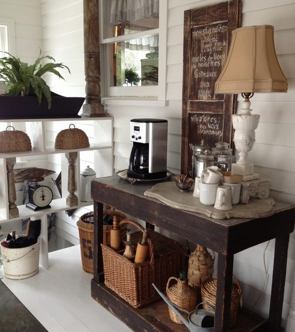 Unique Coffee Bar Ideas For Your Home – Serve The Coffee Creatively