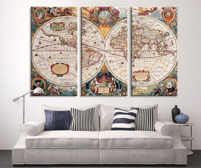 large-maps-interior-design-2-675x562 The 15 Newest Interior Design Ideas for Your Home in 2017