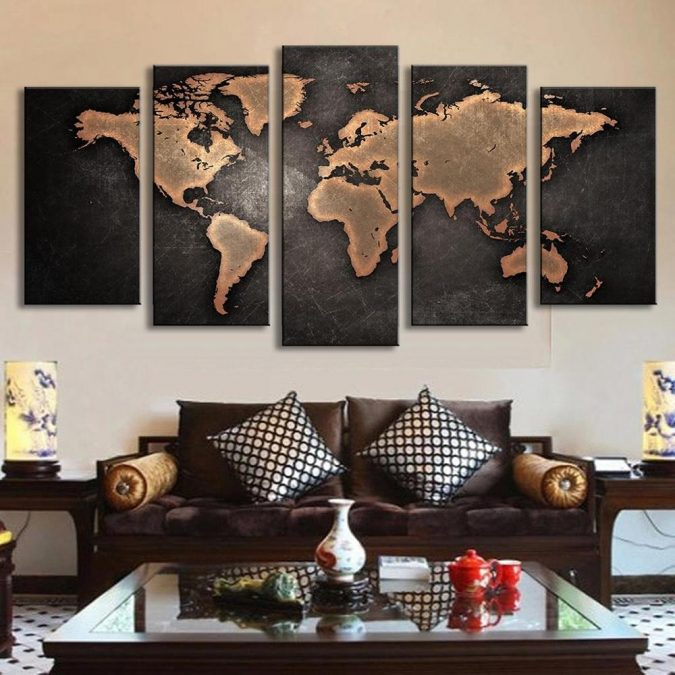 large-maps-interior-design-675x675 The 15 Newest Interior Design Ideas for Your Home in 2017