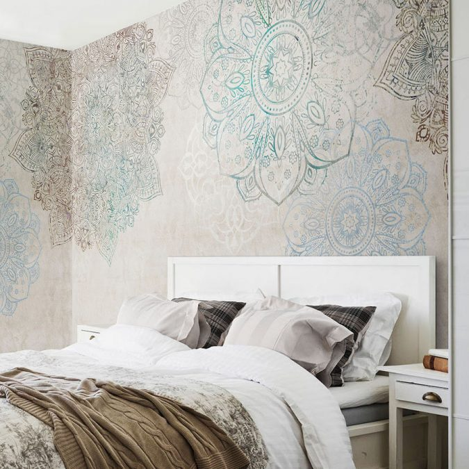 mandala-prints-wallpaper-interior-design-2-675x675 The 15 Newest Interior Design Ideas for Your Home in 2017