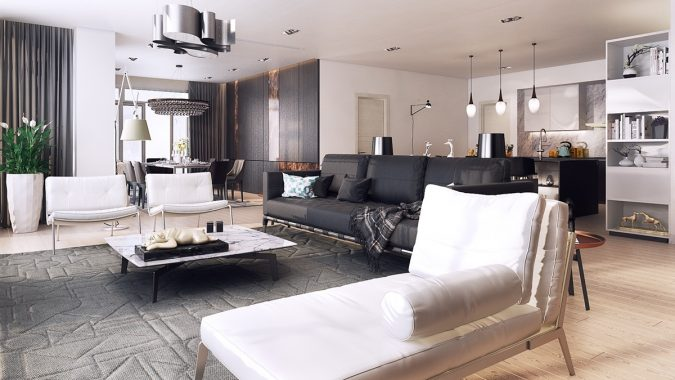 modern-black-and-white-colors-675x380 15+ Top Modern House Interior Designs for 2018!
