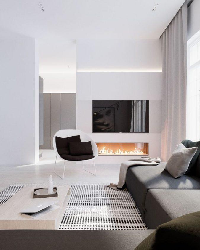 modern-decor-less-furniture-675x844 15+ Top Modern House Interior Designs for 2018!