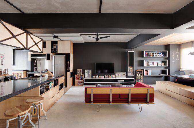 modern-home-interior-design-no-internal-walls-675x446 15+ Top Modern House Interior Designs for 2018!
