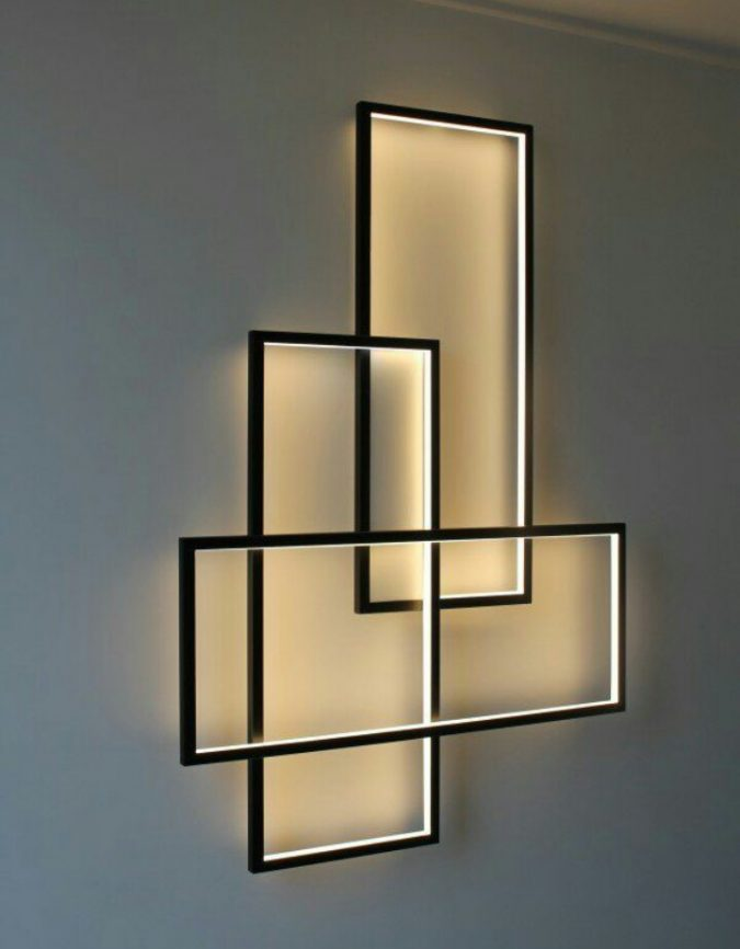 modern-interior-design-wall-art-675x866 15+ Top Modern House Interior Designs for 2018!