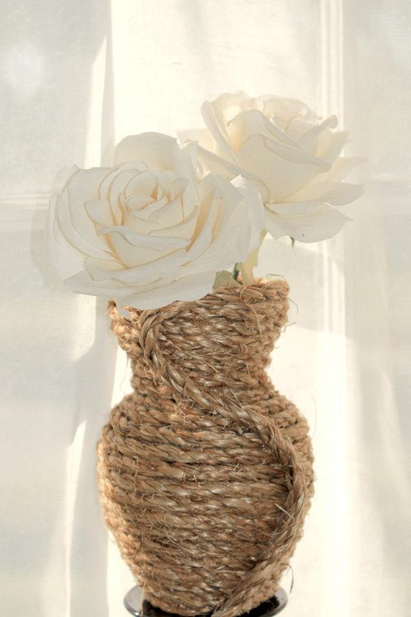 vases 25 Creative Rope Decor Design Ideas