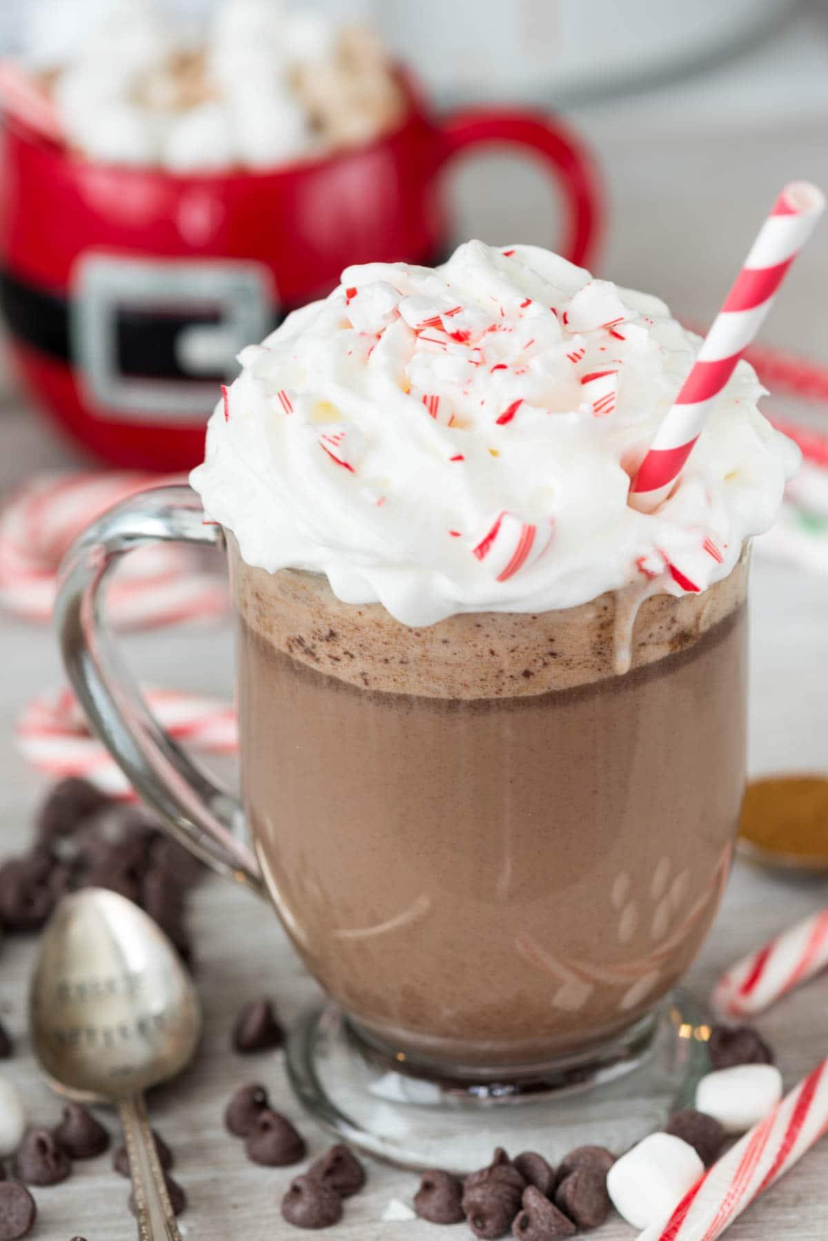 Image result for Crock-Pot Peppermint Mocha Hot Cocoa