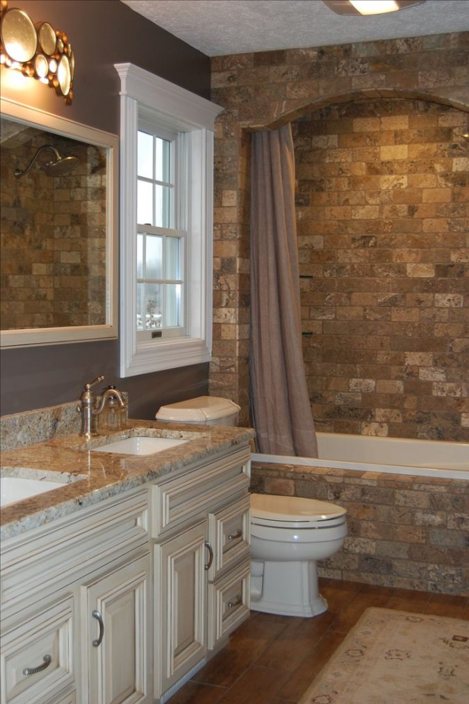 bathroom-decorative-stone-bricks-2-675x1014 Top 10 Master Bathrooms Design Ideas for 2018