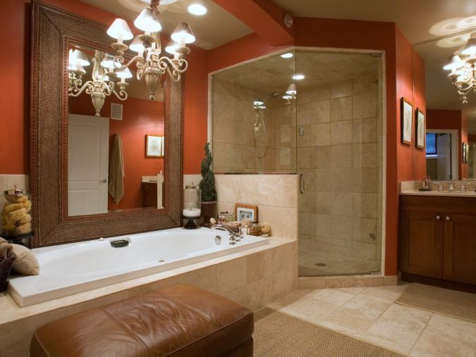 colorful-modern-bathroom-675x507 Top 10 Master Bathrooms Design Ideas for 2018