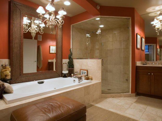 colorful-modern-bathroom-675x507 Top 10 Master Bathrooms Design Ideas for 2018