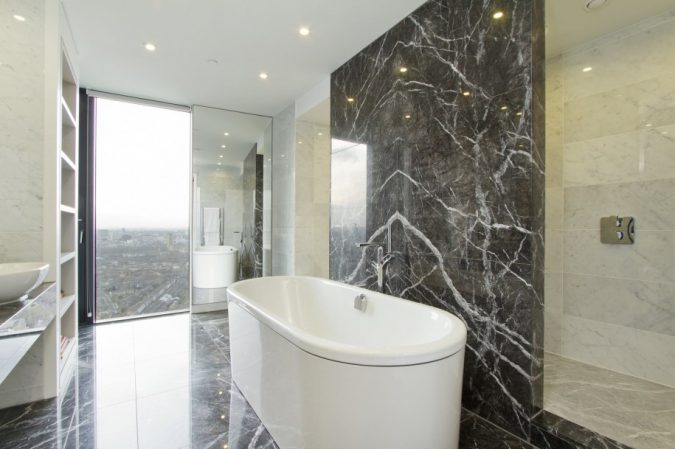 Marble-bathroom-Recessed-Lighting-675x449 Top 10 Master Bathrooms Design Ideas for 2018