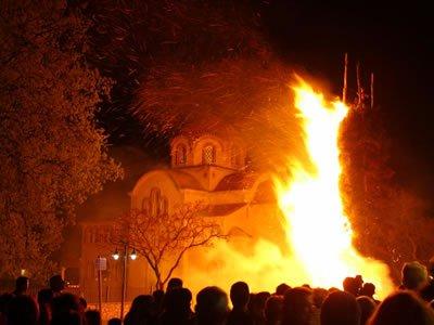burning of Judas