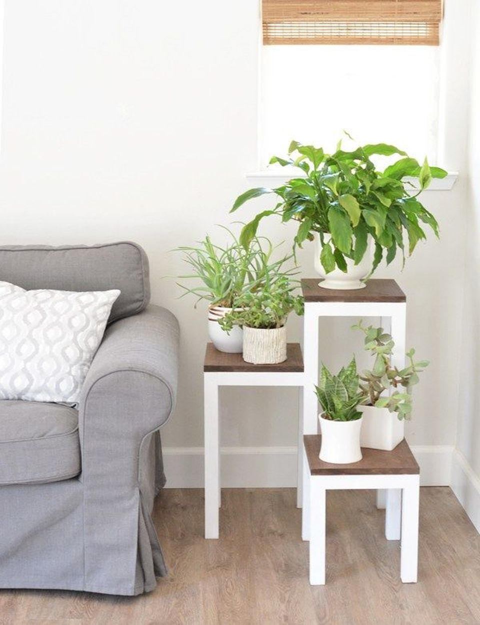 Cool Plant Stand Design Ideas for Indoor Houseplants ... on House Plant Stand Ideas  id=88862
