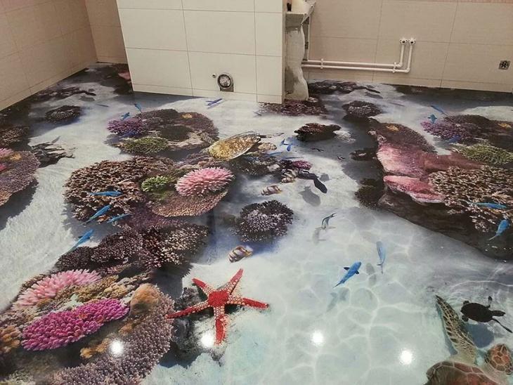 Marble 3d Floor Art
