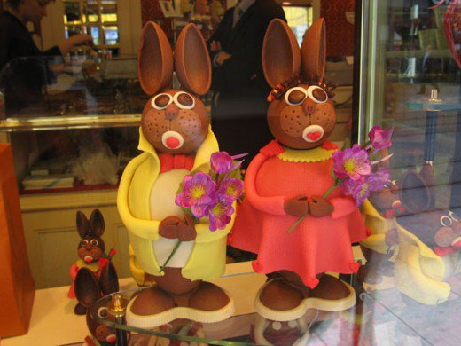 Switzerland Chocolate bunnies