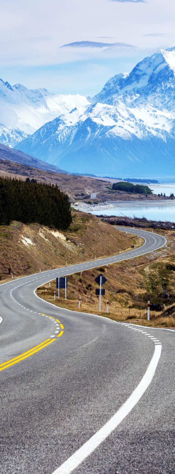 Cinematic Road to Mount Cook , New Zealand | 23 Roads you Have to Drive in Your Lifetime
